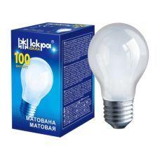 Лампочка Искра 100W а55 Е27 матовая