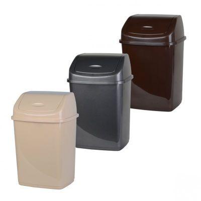 Ведро для мусора с поворотной крышкой 18л (AL31566)