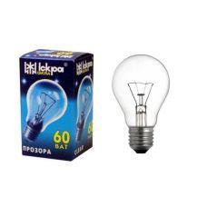 Лампочка Искра 60W а50 е27 прозрачная