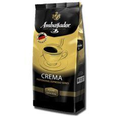 Кофе в зернах Ambassador Crema 1кг, Германия