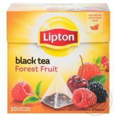 Чай черный Lipton Forest Fruit, 25х1,8г/уп
