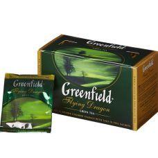 Чай зеленый Greenfield в пакетиках Flying Dragon 2г х25 шт
