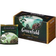Чай зеленый Greenfield в пакетиках Jasmine Dream 2г х 25 шт