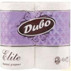 Бумага туалетная 3-слойная, 4 шт, ELIT