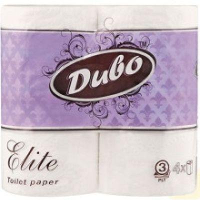 Бумага туалетная 3-слойная, 4 шт, ELIT (43553)