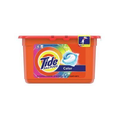 Tide омс жидкий в растворимых капсулах color 12шт по 24.8г (745452)