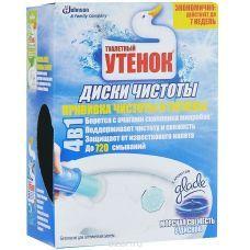 Средство для туалета Стикер чистоты Туалетный Утенок 10г х 6шт