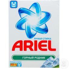 Стиральный порошок д/ручной стирки, ARIEL, 450г
