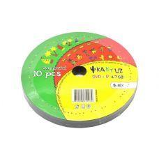 Диск KAKTUZ DVD-R 4,7Gb 8-16x Bulk 10 pcs