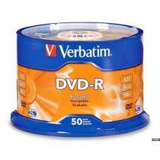 Диск VERBATIM DVD+R 4,7Gb 16x Cake 50 pcs