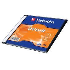 Диск VERBATIM DVD-R 4,7Gb 16x Slim 1 pcs