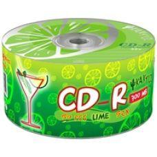 Диск KAKTUZ CD-R 700Mb 52x Bulk 50 pcs LIME