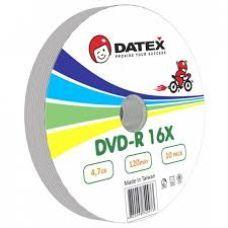 Диск DATEX DVD-R 4,7Gb 16x Bulk 10 pcs