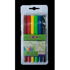 Фломастеры набор 6 цветов