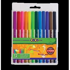 Фломастеры набор 12 цветов