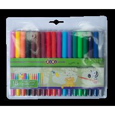 Фломастеры набор 18 цветов