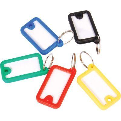 Брелок для ключей пластиковый 45х26мм ассорти (E41645)