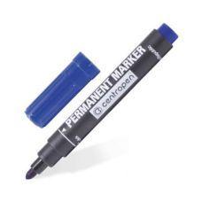 Маркер перманентный Permanent 8566 25мм круглый синий