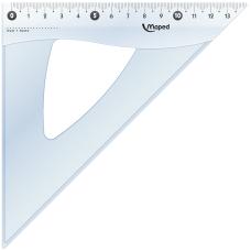 Треугольник ESSENTIALS 45гр/210мм гипотенуза пластик дисплей