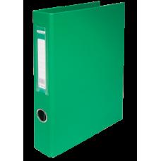 Папка на кольцах А4 4D-кольца 30мм PP зеленый