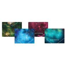Папка на резинках А4 Optima Universe ассорти
