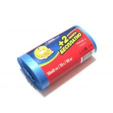 Пакет для мусора п/е 35л/50шт 50*60 черный/синий ФБ