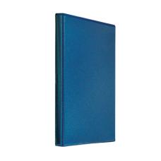 Папка-регистратор Панорама рекламный А4 4D-кольца 40мм PVC темно-синий
