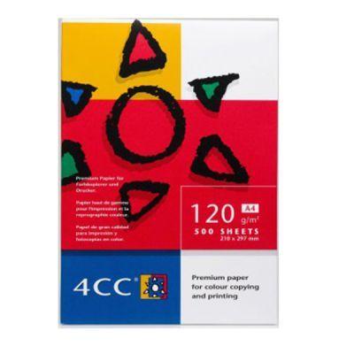 Бумага для цветной печати 4CC A4 120 г/м2 500л (АФ1015)