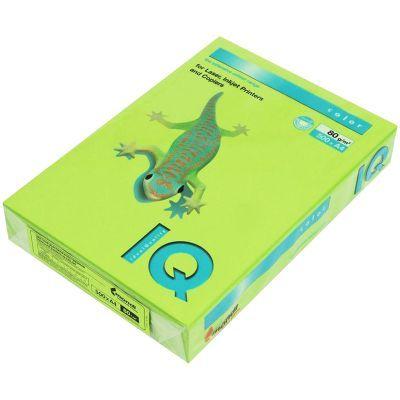Бумага цветная насыщенный А4 80г/м2 500л. LG46 зеленый (A4.80.IQI.LG46.500)