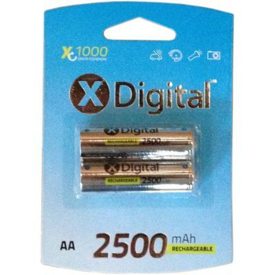 Аккумулятор X-DIGITAL HR06 Ni-MH 2500mAh (HR03 2500)