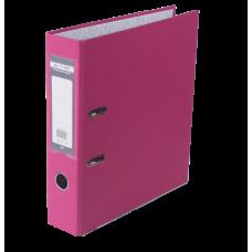Папка-регистратор А4 односторонняя 70мм розовый сборная