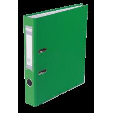 Папка-регистратор А4 односторонняя 50мм зеленый сборная