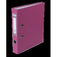 Папка-регистратор А4 односторонняя 50мм розовый сборная