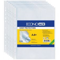 Файлы А4+ Economix 40мкм фактура апельсин 100шт.