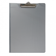 Папка-планшет А4 PVC серый