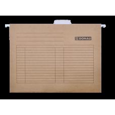 Файл подвесной А4 картон коричневый