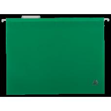 Файл подвесной А4 пластиковый зеленый