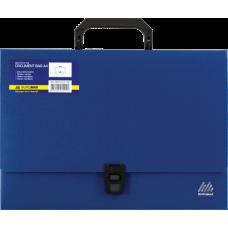 Портфель A4 35мм пластиковый A4 35мм синий