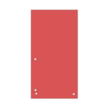 Индекс-разделитель 10,5х23см (100шт.) картон червоний