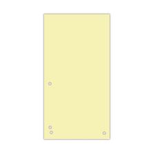 Индекс-разделитель 10,5х23см (100шт.) картон жовтий
