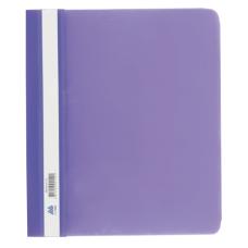 Скоросшиватель пластиковый А5 PP фиолетовый