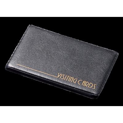 Визитница на 24 визиток винил черный (0304-0002-01)
