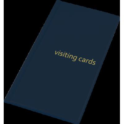 Визитница на 96 визиток PVC темно-синий (0304-0005-02)