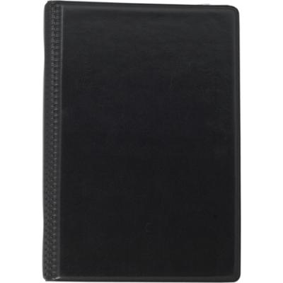 Визитница на 120 визиток на кольцах винил черный (BM.3541-01)