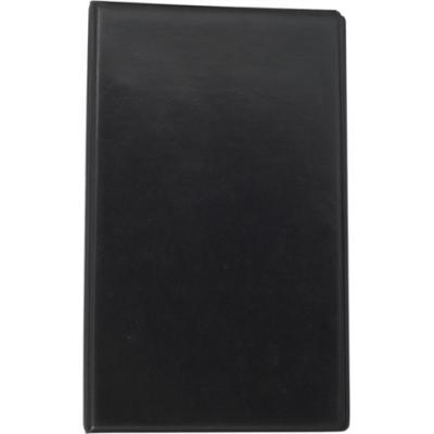 Визитница на 200 визиток на кольцах винил черный (BM.3561-01)