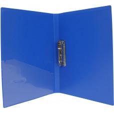 Папка А4 с боковым прижимом Economix синий
