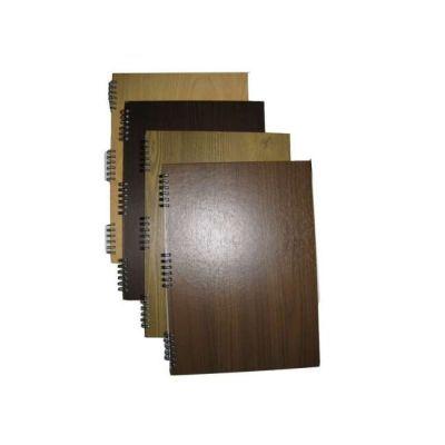 Блокнот на пружине Алкор А4 твердая обложка пружина боковая 96л. (R181)