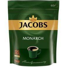 Кофе растворимый Jacobs Monarch 46 гр эконом пакет