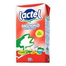 Молоко Лактель 3,2 % 1л