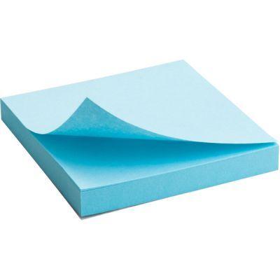 Блок бумаги с клейким слоем 75x75мм 100л  синий (2314-04-A)